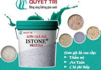 Painted stone imitation construction instruction